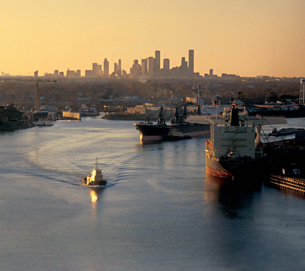 Houston Ship Channel, Buffalo Bayou. Photo by Jim Olive